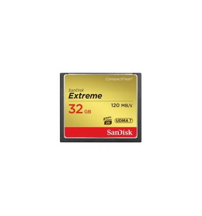 Карта памяти SanDisk Compact Flash Extreme 32GB (CF) 120MB/S 800x