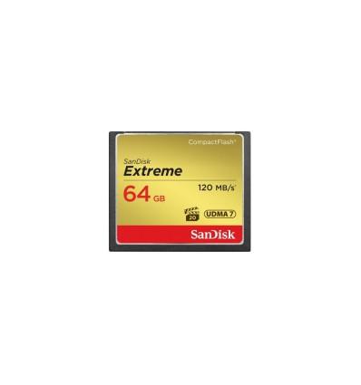 Карта памяти SanDisk Compact Flash Extreme 64GB (CF) 120MB/S 800x