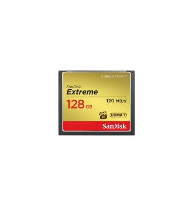 Карта памяти SanDisk Compact Flash Extreme 128GB (CF) 120MB/S 800x