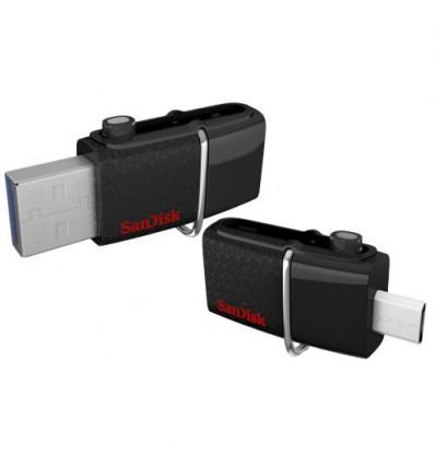 Флешка USB 3.0 + Micro USB OTG - SanDisk Ultra Dual USB Drive 3.0 16GB