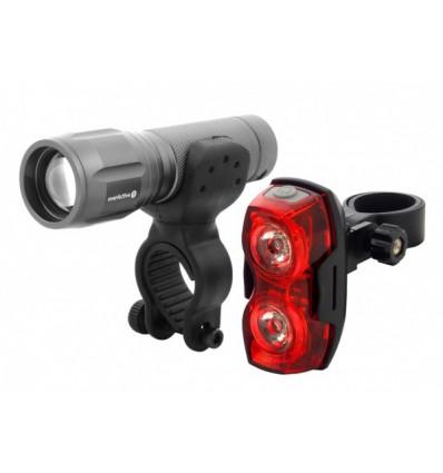 Набор фонарей FL-300 Cree XP-G2 300 lm + EverActive TL-X2