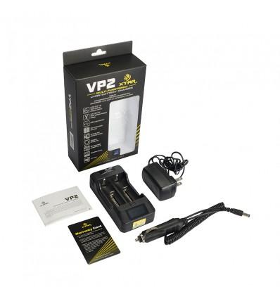Зарядное устройство Xtar VP2 для Li-ion аккумуляторов