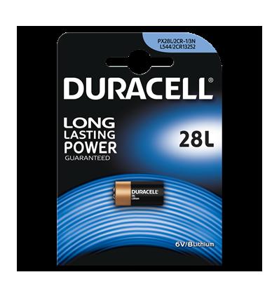 Батарейка литиевая Duracell Lithium 28L