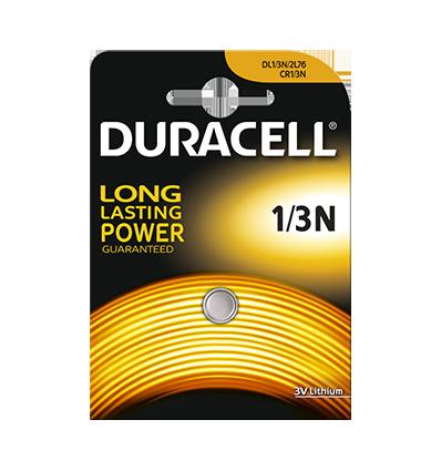 Батарейка литиевая Duracell Lithium 1/3N 3V