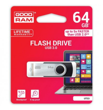 Флешка USB 3.0 GoodRam UTS3 64GB